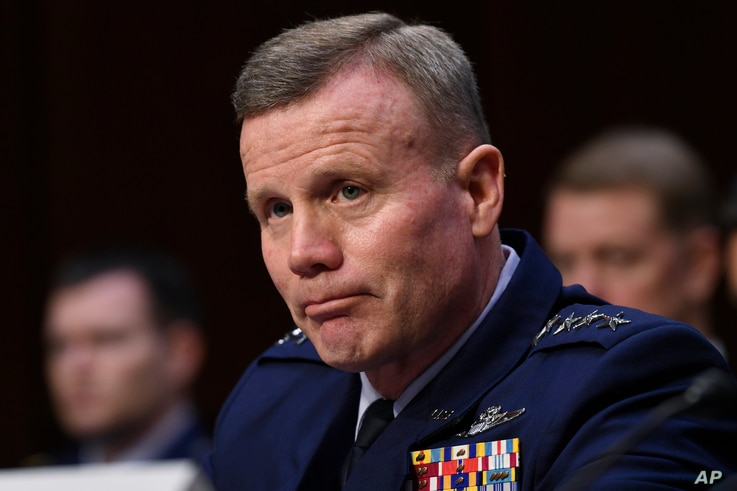 Gen. Tod D. Wolters, commander of U.S. European Command and NATO Supreme Allied Commander Europe, testifies before the Senate...