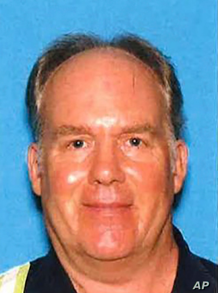 This undated photo provided by the Santa Clara County Sheriff's Office shows Samuel Cassidy, 57, the suspect in the Wednesday,…