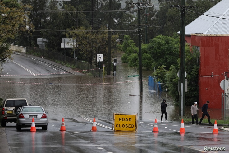 Severe flooding in Sydney