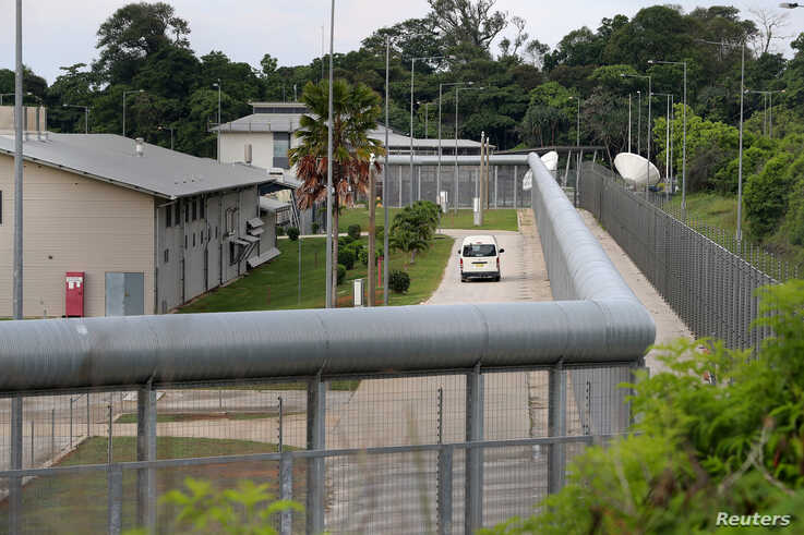 A general view of the Christmas Island Immigration Detention Centre, where Australian citizens and residents flown out of Wuhan, Hubei province, China, the epicentre of the coronavirus outbreak, will spend 14 days in quarantine, Feb. 4, 2020.