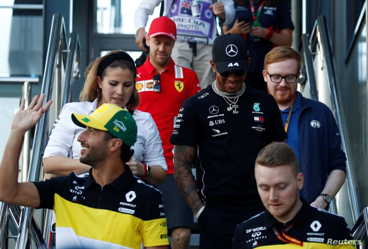 Formula One F1 - Australian Grand Prix - Melbourne Grand Prix Circuit, Melbourne, Australia - March 12, 2020   Mercedes' Lewis…