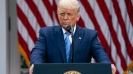 President Donald Trump speaks about coronavirus testing strategy, in the Rose Garden of the White House, Monday, Sept. 28, 2020…