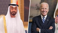 Biden and Mohammed bin Zayed Al Nahyan