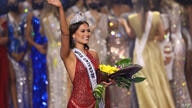 HOLLYWOOD, FLORIDA - MAY 16: Miss Mexico Andrea Meza is crowned Miss Universe 2021 onstage at the Miss Universe 2021 Pageant at…