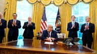 President Donald Trump speaks in the Oval Office of the White House on Friday, Sept. 11, 2020, in Washington. Bahrain has…