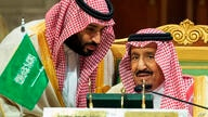 FILE - In this Dec. 9, 2018 file photo, released by the state-run Saudi Press Agency, Saudi Crown Prince Mohammed bin Salman,…
