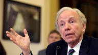 """Former Sen. Joe Lieberman, I-Conn., testifies before the House Homeland Security Committee at a hearing on """"The Boston Bombings…"""