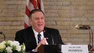 U.S. Secretary of State Mike Pompeo attends a Vatican U.S. Symposium on Faith-Based Organizations (FBOs), at the Vatican,…