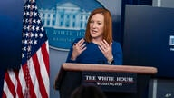 White House press secretary Jen Psaki speaks during a press briefing at the White House, Monday, Feb. 22, 2021, in Washington. …