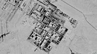 This Sept. 29, 1971, spy satellite photograph later declassified by the U.S. government, shows what now is known as the Shimon…