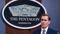 Pentagon spokesman John Kirby speaks during a media briefing at the Pentagon, Wednesday, Feb. 17, 2021, in Washington. (AP…