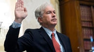 William Burns is sworn in before a Senate Intelligence Committee hearing on his nomination to be director of the Central…