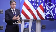 U.S. Secretary of State Antony Blinken speaks during a news conference at the end of a NATO Foreign Affairs Ministers meeting…