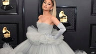 FILE - Ariana Grande appears at the 62nd annual Grammy Awards in Los Angeles on Jan. 26, 2020. A representative for the singer…