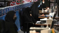Elections headquarters staff work to register candidates for the June 18, presidential elections at the interior Ministry in…