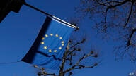 The European Union flag flies outside Europe House the Delegation of the official European Union office to the United Kingdom…