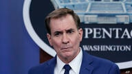 Pentagon spokesman John Kirby speaks during a briefing at the Pentagon in Washington, Friday, April 9, 2021. (AP Photo/Susan…