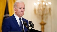FILE - In this April 15, 2021, file photo President Joe Biden speaks about Russia in the East Room of the White House in…