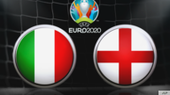 UEFA EURO 2020 logo, on texture, with ITALY and ENGLAND, finished graphic