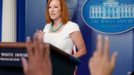 White House press secretary Jen Psaki speaks during the daily briefing at the White House in Washington, Monday, July 26, 2021…