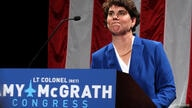 FILE PHOTO: Democratic congressional candidate Amy McGrath thanks all her supports after conceding at her election night party in Richmond