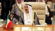FILE PHOTO: Kuwaiti Emir Sheikh Sabah al-Ahmad al-Jaber al-Sabah is seen during the Arab summit in Mecca