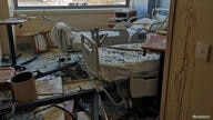 Social media image shows damage at the Saint George Hospital after a devastating port explosion in Beirut