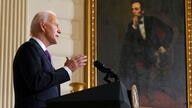 Biden speaks about racial equality at the White House in Washington