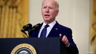 U.S. President Biden delivers remarks on Russia at the White House in Washington