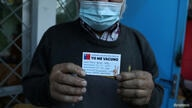 FILE PHOTO: Vaccination campaign against the coronavirus disease (COVID-19) in Chile