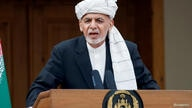 FILE PHOTO: Afghanistan's President Ashraf Ghani speaks during his inauguration as president, in Kabul