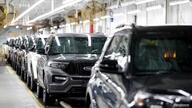 FILE PHOTO: 2020 Ford Explorer cars are seen at Ford's Chicago Assembly Plant in Chicago