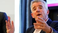 FILE PHOTO: Ryanair Chief Executive O'Leary addresses a news conference in Vienna