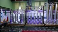 FILE PHOTO: A number of new generation Iranian centrifuges are seen on display during Iran's National Nuclear Energy Day in Tehran