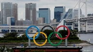 Olympic Rings for Tokyo 2020 Olympic Games