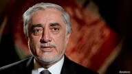FILE PHOTO: Chairman of Afghanistan's High Council for National Reconciliation Abdullah Abdullah speaks during an interview with Reuters at the Willard Hotel