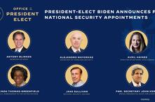 Biden foreign policy and security team