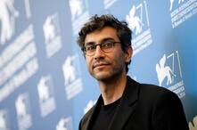 Director Ramin Bahrani poses during the photo call for the movie 99 Homes at the 71st edition of the Venice Film Festival in…