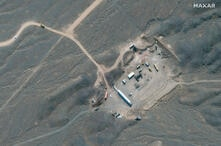 FILE PHOTO: Satellite image shows Iran's Natanz Nuclear Facility in Isfahan