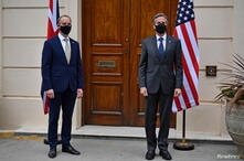 Britain hosts first G۷ foreign ministers meeting since start of pandemic