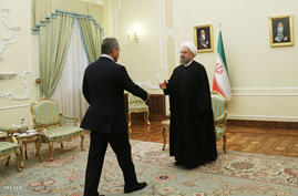 Russia Defense minister Hasan Rouhani