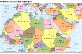 Mideast Map