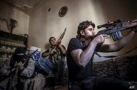 Mideast Syria Firepower in the Field