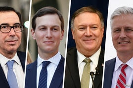 Steven Mnuchin Mike Pompeo Jared Kushner Robert C. O'Brien