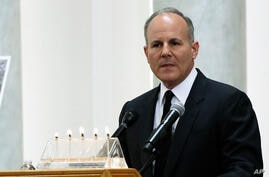 Elan Carr, the United States Special Envoy for Monitoring and Combating anti-Semitism