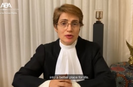 Iranian lawyer Nasrin Sotoudeh - 2020 Eleanor Roosevelt Prize for Global Human Rights Advancement Honoree