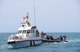 CENTCOM French Ally rescue Iranian Fishing vessel