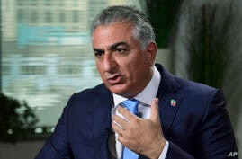 Reza Pahlavi, the exiled son of Iran's last shah before the 1979 Islamic Revolution and a critic of the country's clerical…