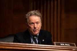 Sen. Rand Paul, R-Ky. speaks during a Senate Health, Education, Labor and Pensions Committee hearing on the nomination of…
