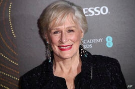 Actress Glenn Close poses for photographers upon arrival at the BAFTA Nominees Party in London, Saturday, Feb. 9, 2019. (Photo…